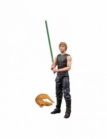 Figura Star Wars HTTE Black Series Lucasfilm 50th Anniversary 2021: Luke Skywalker & Ysalamiri 15 cm