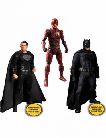 Set de 3 Figuras Deluxe DC Universe Justice League One:12 Collective - Zack Snyder's 15-17 cm