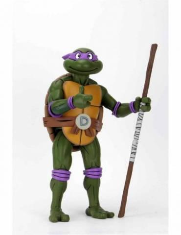 Figura Scale Action Figure Las Tortugas Ninja (Cartoon): Donatello 38 cm