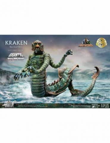 Figura Gigantic Series Ray Harryhausen (100Th Anniversary): Kraken Versión Normal 35 cm