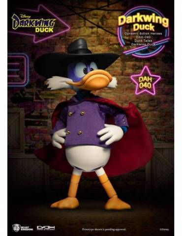 Figura Darkwing Duck: Dynamic 8ction Heroes 1/9 Darkwing Duck 16 cm