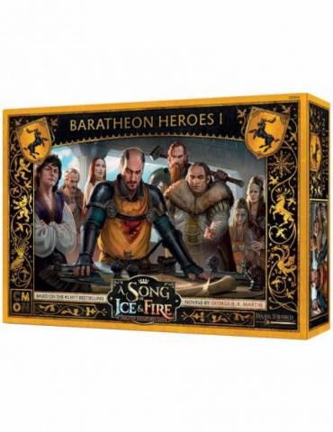 Canción de Hielo y Fuego el juego de miniaturas: Héroes Baratheon I