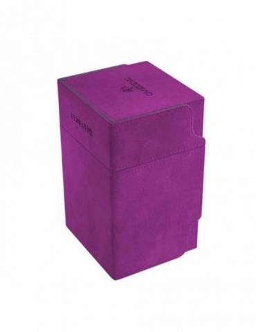 Caja para cartas Gamegenic: Watchtower 100+ Convertible Purple