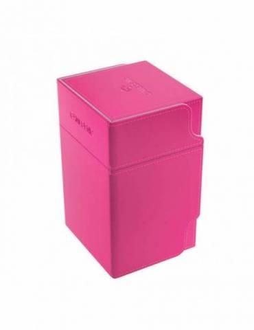 Caja para cartas Gamegenic: Watchtower 100+ Convertible Pink