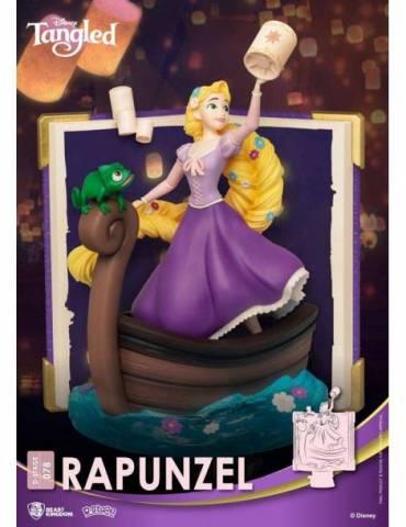 Figura Diorama Disney D-Stage Story Book Series: Rapunzel 15 cm