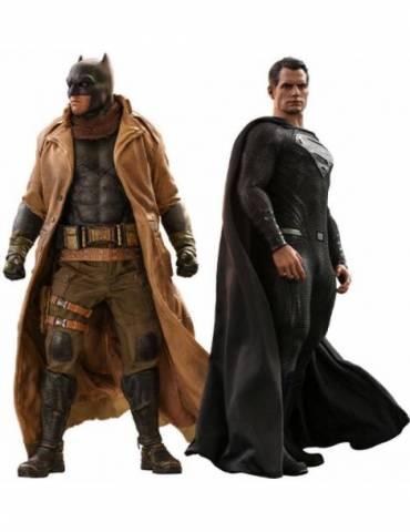 Pack de 2 Figuras Zack Snyder's Justice League: Knightmare Batman and Superman 31 cm
