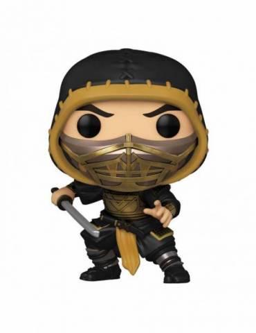 Figura POP Mortal Kombat Movie Movies Figuren Scorpion 9 cm
