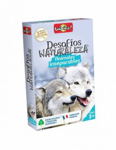 Desafíos de la Naturaleza: Animales inseparables