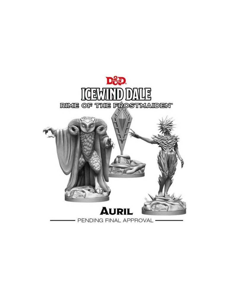 D&D Icewind Dale Rime of the Frostmaiden: Auril (3 figs)