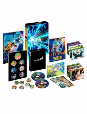 Dragon Ball Super Broly Blu-ray Coleccionista Caja A4 (Blu-ray)