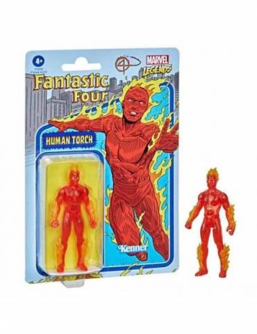 Figura Marvel Legends Retro: Antorcha Humana 9.5 cm