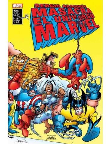 Sergio Aragones Masacra al Universo Marvel