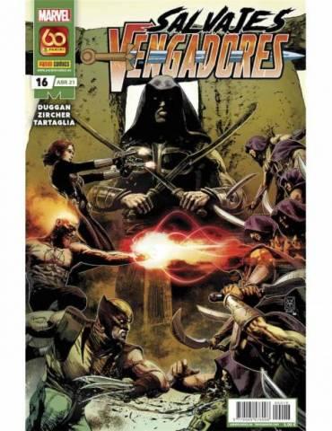 Salvajes Vengadores 16