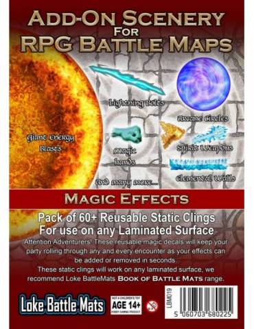 Add-On Scenery for RPG Maps: Magic Effects