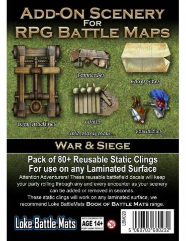 Add-On Scenery for RPG Maps: War & Siege