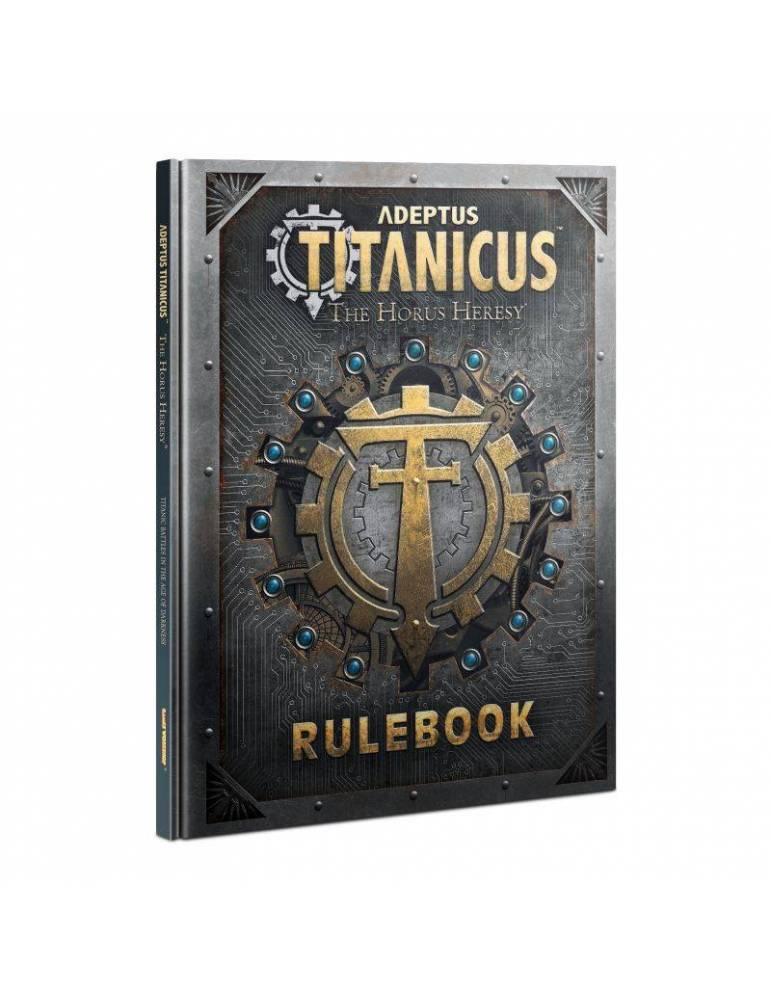 Adeptus Titanicus: The Horus Heresy - Rulebook (Inglés)