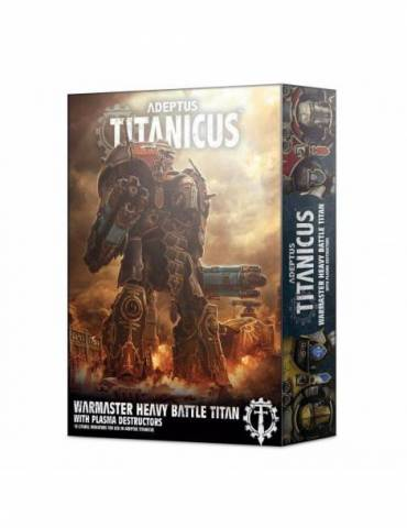 Warmaster Titan con destructores de plasma