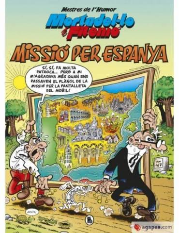 Mestres de L'Humor 57: Missió per Espanya (Mortadelo y Filemón) (Catalán)