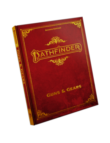 Pathfinder Guns & Gears Special Edition Hardcover