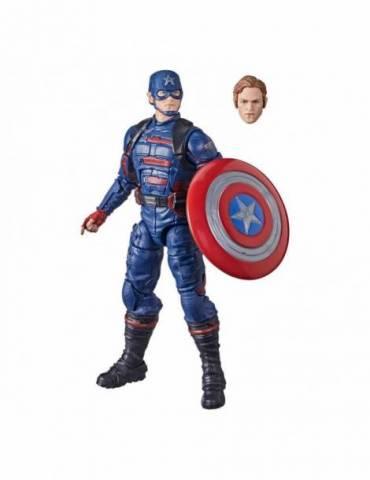 Figura Falcon y el Soldado de Invierno Marvel Legends: 2021 Captain America (John F. Walker) 15 cm