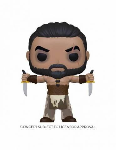 Figura POP Juego de tronos TV: Khal Drogo  with Daggers 9 cm