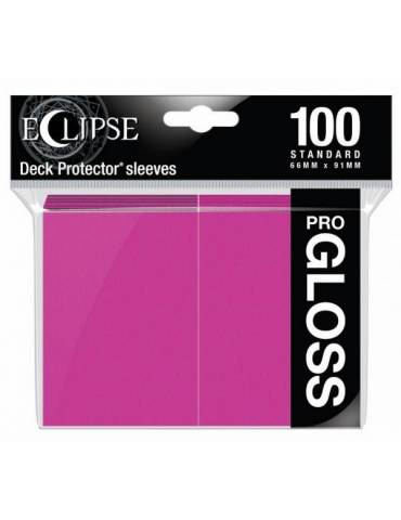 Fundas Ultra Pro Eclipse Gloss Standard Sleeves: Hot Pink (100)