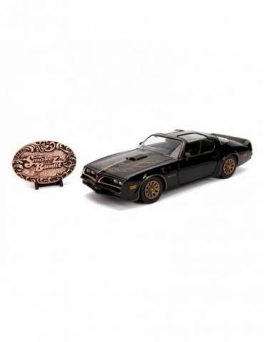 Réplica Los Caraduras: Vehículo Diecast Model Hollywood Rides 1/24 1977 Pontiac Firebird