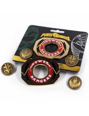 Set de Pins Power Rangers: Legacy Power Morpher Verde/Blanco Ed. 6 cm