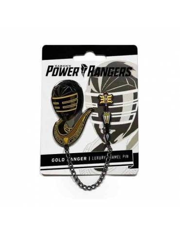 Set de Pins Luxury Enamel Power Rangers: Gold Zeo Ranger 5 cm
