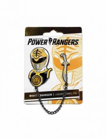 Set de Pins Luxury Enamel Power Rangers: White Ranger 5 cm