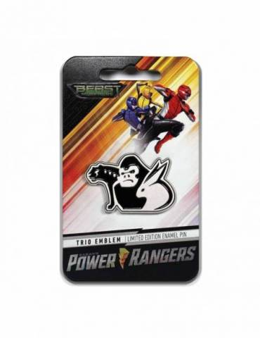 Pin Enamel Power Rangers: Trio Emblem 4 cm