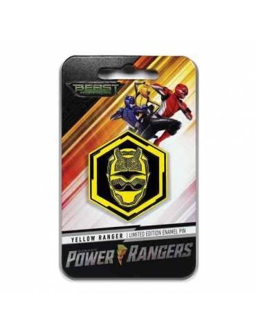 Pin Enamel Power Rangers: Beast Morphers Yellow Ranger 4 cm