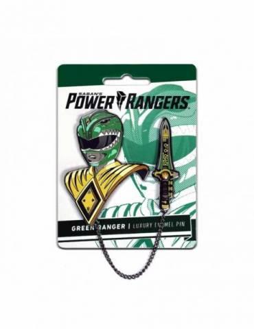 Set de Pins Luxury Enamel Power Rangers: Green Ranger 6 cm