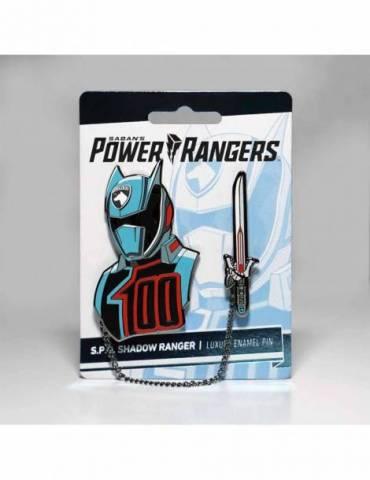 Set de Pins Luxury Enamel Power Rangers: S.P.D. Shadow Ranger 6 cm