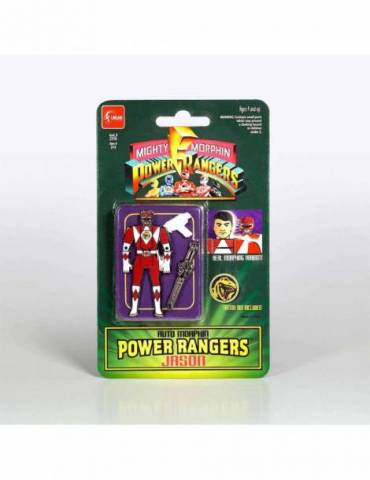 Set de Pins Auto Morphin Power Rangers: Jason 5 cm