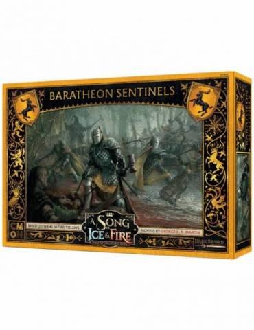 Canción de Hielo y Fuego el juego de miniaturas: Centinelas Baratheon
