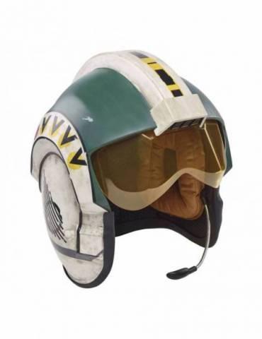Casco Electrónico Star Wars Episode IV Black Series: Wedge Antilles Battle Simulation Helmet