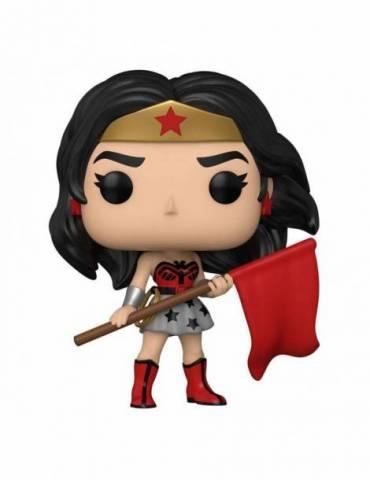 Figura POP DC Comics Heroes Wonder Woman 80th: Wonder Woman (Superman: Red Son) 9 cm
