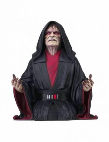 Figura Busto Star Wars Episode IX: Emperor Palpatine 18 cm