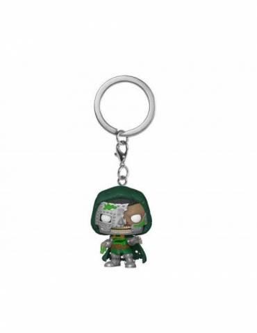 Llavero Pocket POP Marvel Zombies: Dr. Doom 4 cm