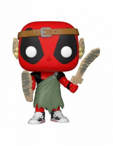 Figura POP Marvel Deadpool 30th Anniversary: Nerd Deadpool 9 cm