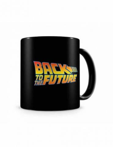 Taza Cerámica Regreso al Futuro: Back To The Future Logo