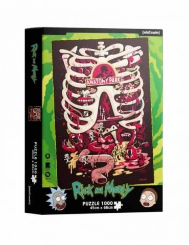 Puzle 1000 Rick y Morty: Anatomy Park