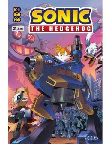 Sonic The Hedgehog núm. 21