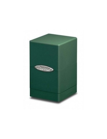 Satin Tower Deck Box (Verde)