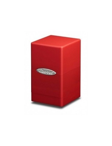 Satin Tower Deck Box (Rojo)
