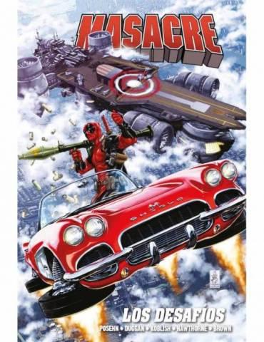 Masacre de Gerry Duggan 03: Los Desafios (Marvel Omnibus)