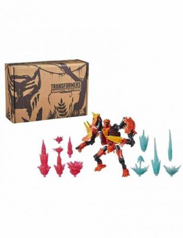 Figura Transformers WFC: Tricranicus Beast Power Fire Blast Collection Pack 15 cm