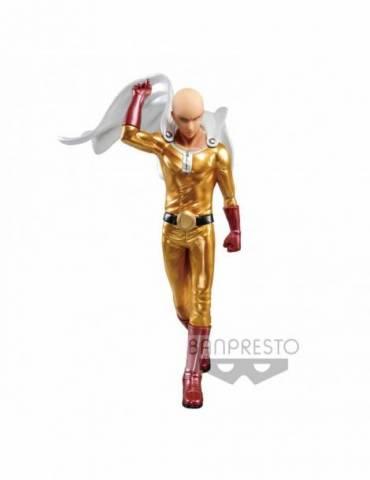 Figura One Punch Man DFX: Saitama Metalic Color Premium 20 cm