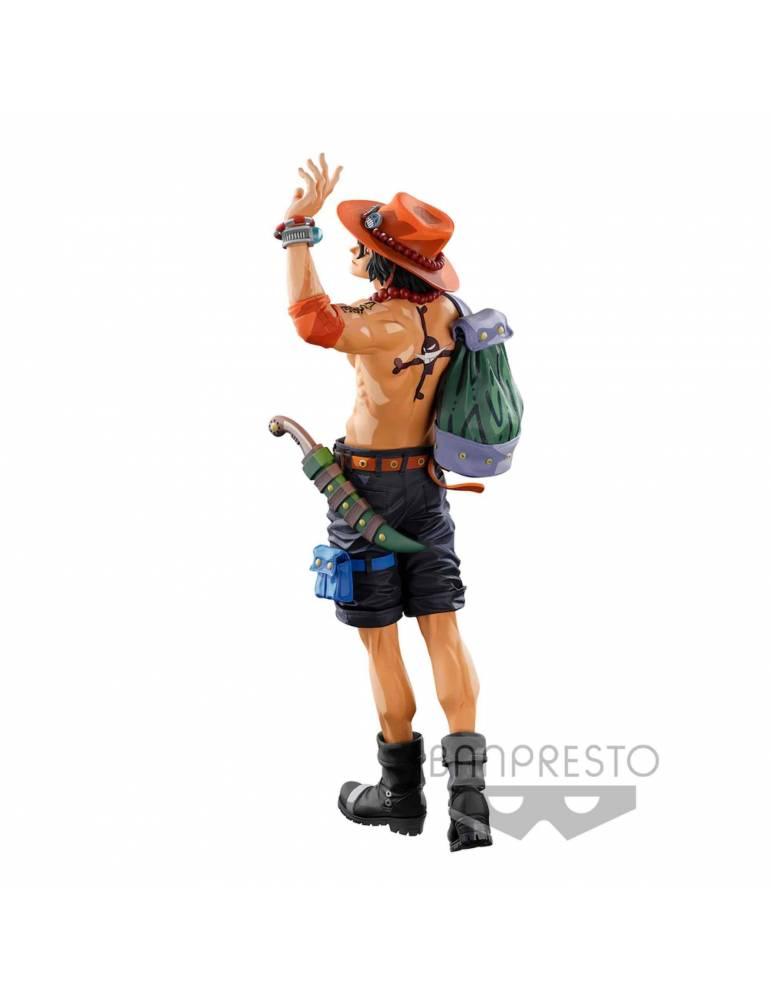 Figura One Piece World Colosseum 3 Super Master Stars Piece: Portgas D. Ace (Two Dimens) Fig 30 cm